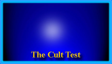 Are you in a cult?