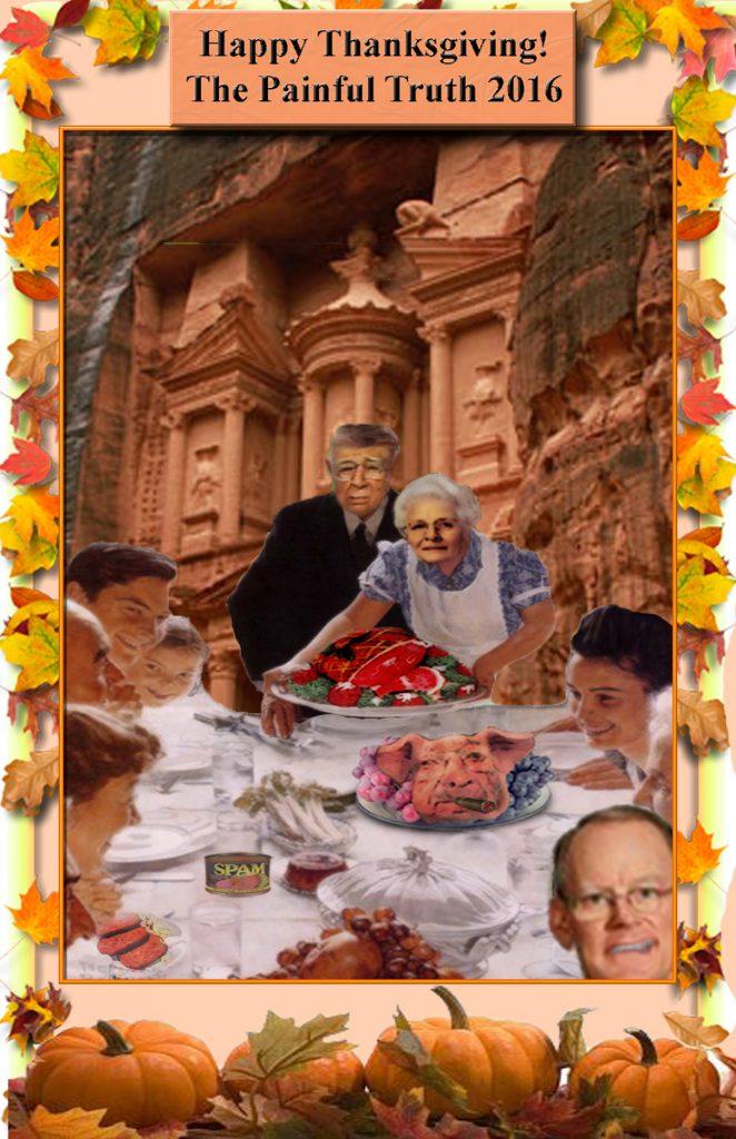 Thanksgiving at Petra.