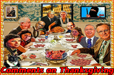 Comments on Thanksgiving, 2017